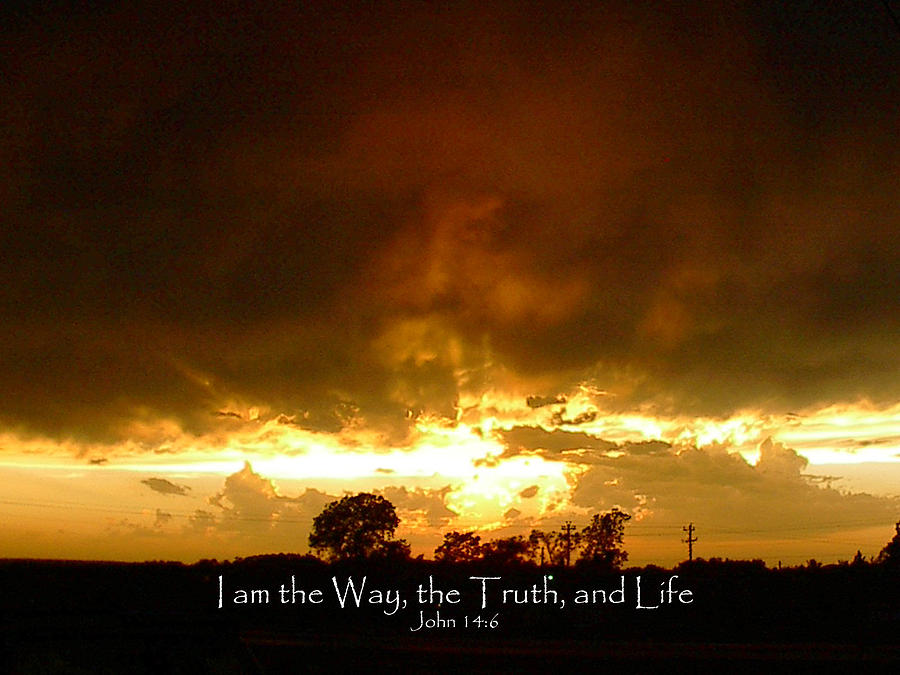 Way Truth Life Photograph by Robyn Stacey