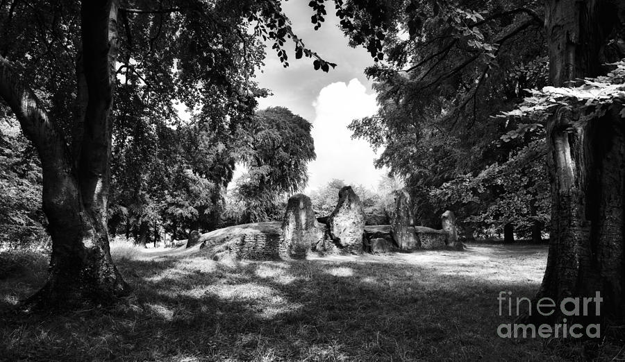 Wayland Photograph - Waylands Smithy Monochrome by Tim Gainey