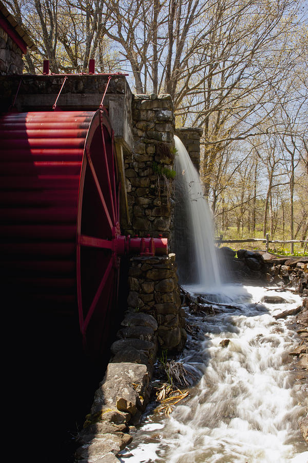 Wayside Grist Mill Photograph - Wayside Grist Mill 2 by Dennis Coates