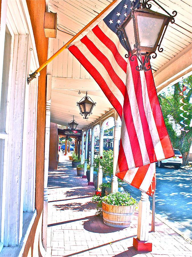 America Pastel - We Are Americans by Joseph Mora