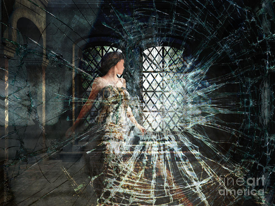 Glass Digital Art - We Are Glass by Lianne Schneider