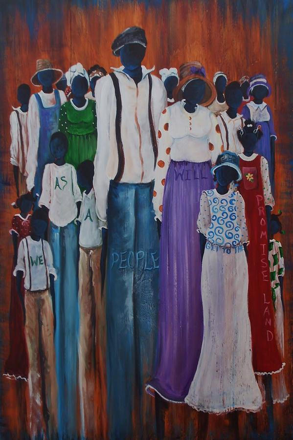 Children Painting - We Are One by Sonja Griffin Evans