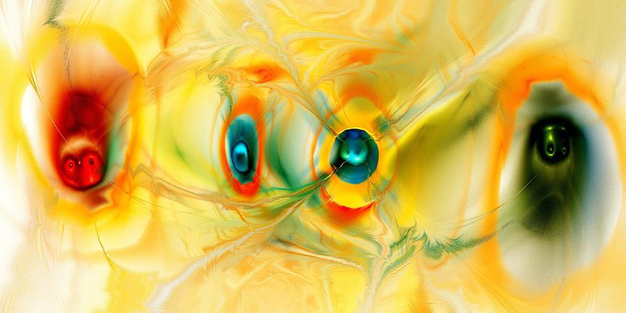 Peculiar Digital Art - We Come In Peace by Anastasiya Malakhova