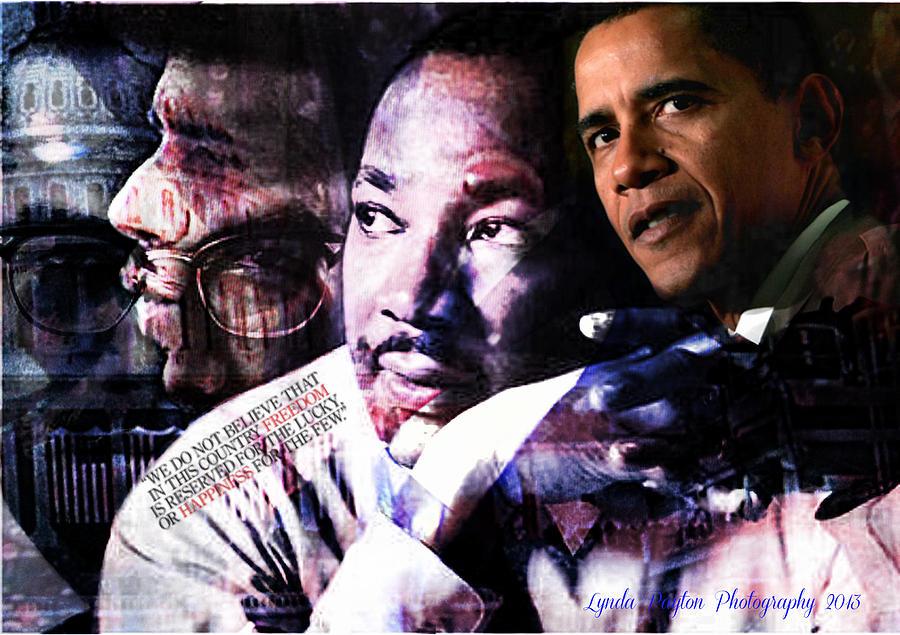 Barack Obama Digital Art - We Do Not Believe by Lynda Payton