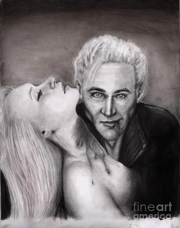 James Drawing by Rosalinda Markle