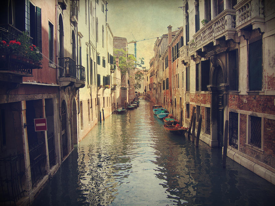 Venice Photograph - We Walked For Hours by Laurie Search