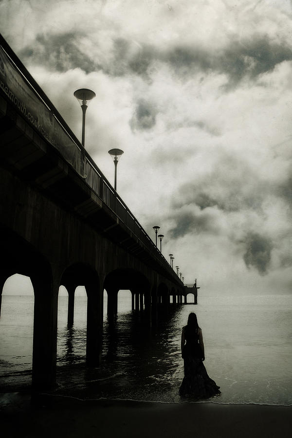 Woman Photograph - We Who Fell In Love With The Sea by Cambion Art