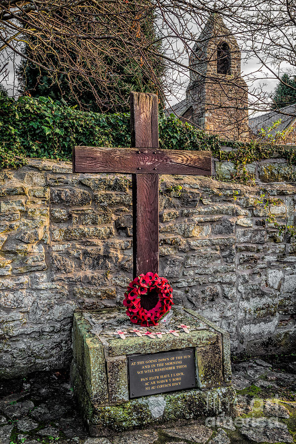 Armistice Day Photograph - We Will Remember by Adrian Evans