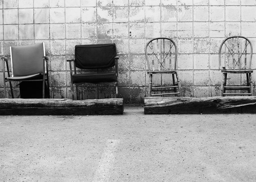 Chairs Photograph - Weakness Will Show by The Artist Project