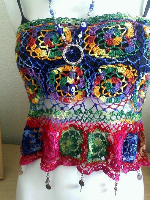 Crochet Jewelry - wearable Art by Crystalin Ian