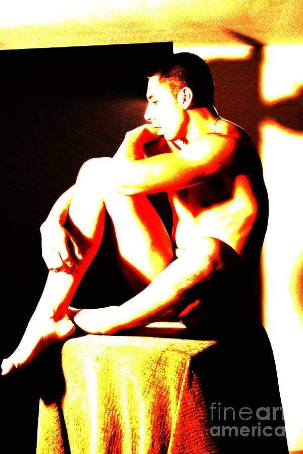 Athlete Digital Art - Wearing Down by Robert D McBain