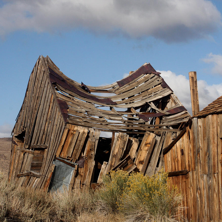 Bodie Photograph - Weather And Time by Art Block Collections