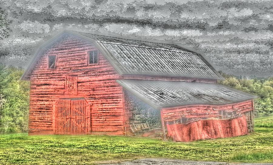 Barn Photograph - Weather Barn by Sarah E Kohara