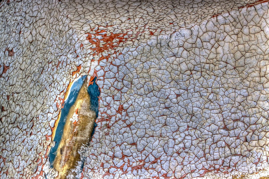 Abstract Photograph - Weathered Boat - Abstract by Heidi Smith
