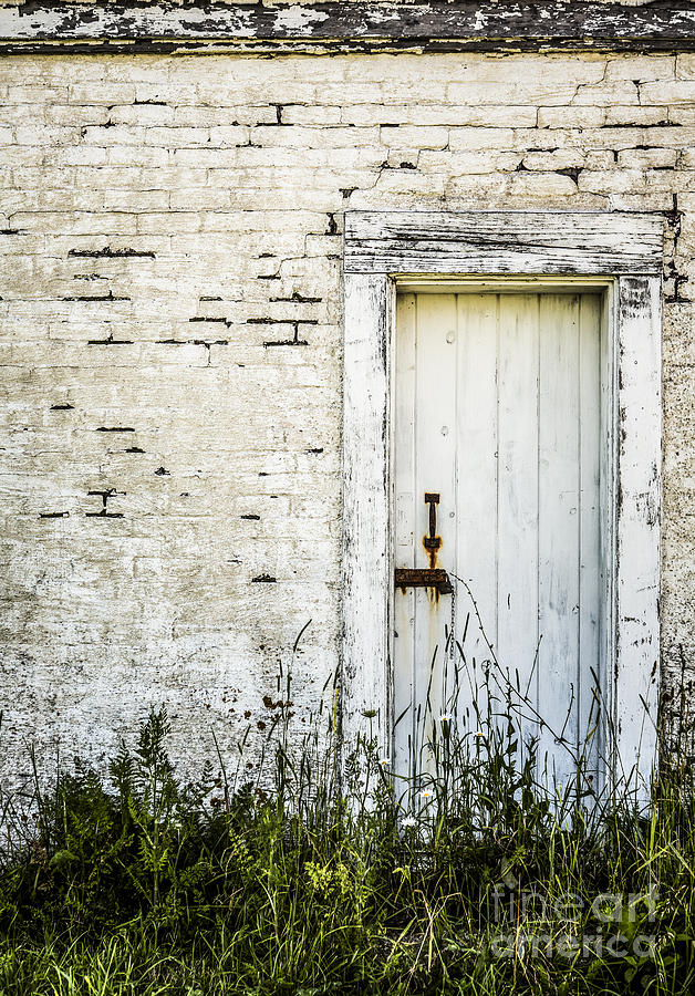 Rustic Photograph - Weathered Door by Diane Diederich