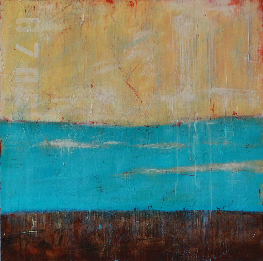 Weathered Painting by Lauren Petit