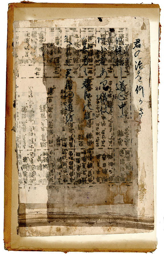 Japan Photograph - Weathered Pages by Carol Leigh