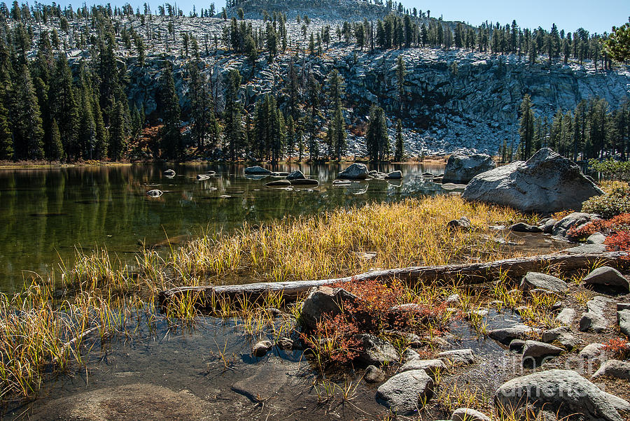 Sierra Nevada Photograph - Weaver Lake- 1-7692 by Stephen Parker