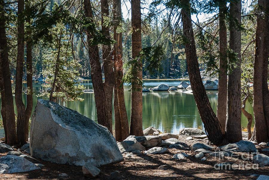 Weaver Lake  1-7700 Photograph by Stephen Parker