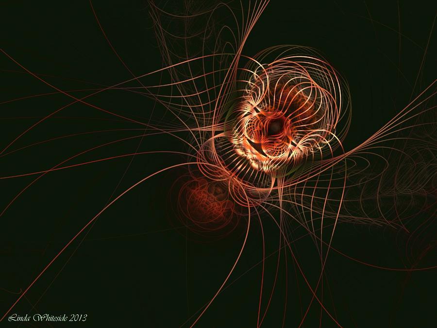 Weaver Of Webs Digital Art - Weaver Of Webs by Linda Whiteside