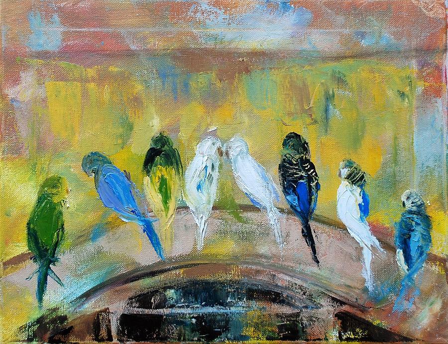 Wedding Birds by Ann Bailey
