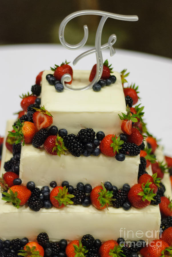british wedding cake fruit wedding cake with fruit photograph by paul sisco 12168