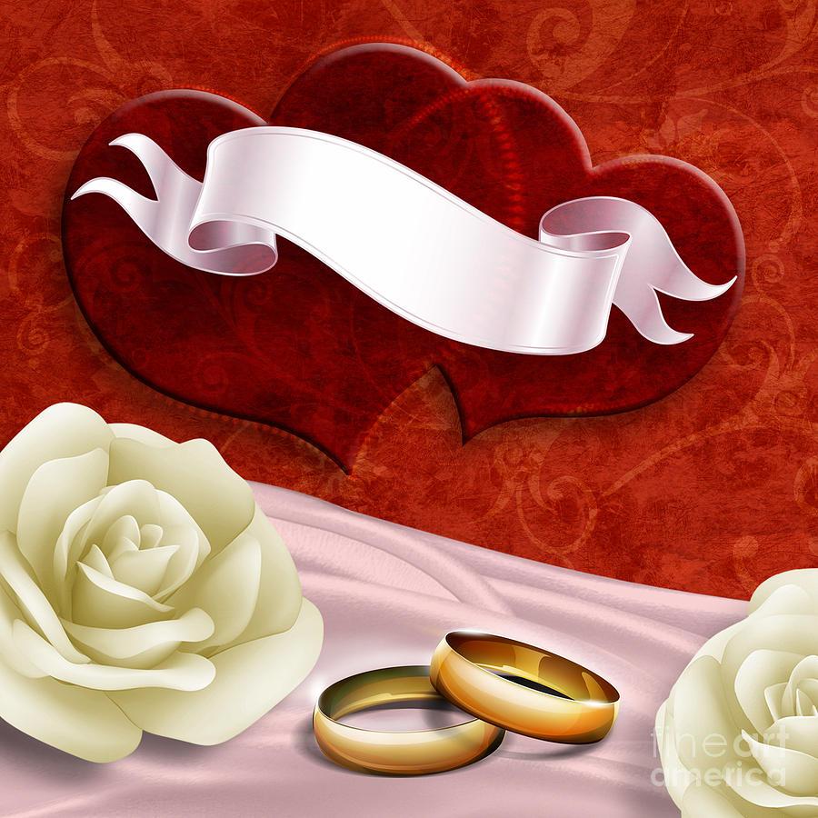 Decoration Digital Art - Wedding Memories V2 Passion by Bedros Awak