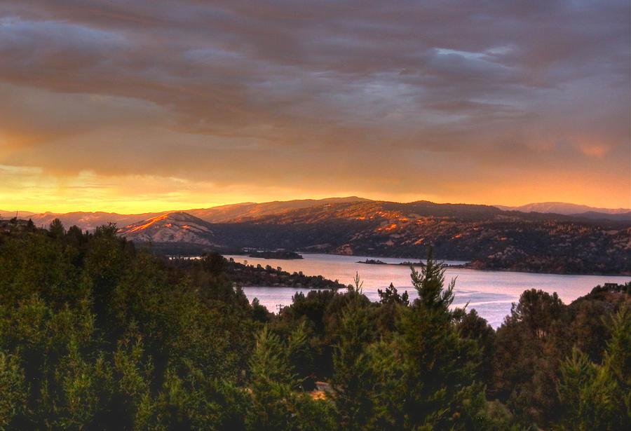 Landscape Arts Photograph - Wednesday Evening Sunset by Kandy Hurley