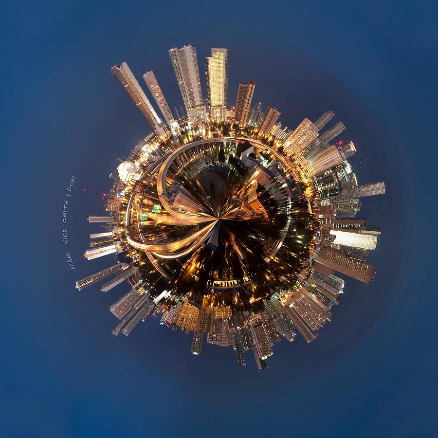 Miami Photograph - Wee Miami Planet by Nikki Marie Smith