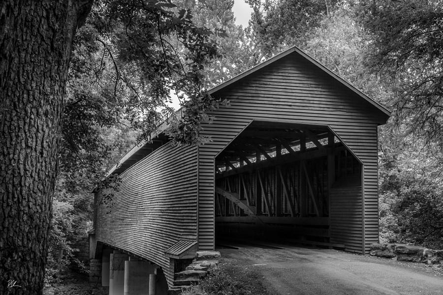 Covered Bridge Photograph - Weems Bottom by Pat Scanlon