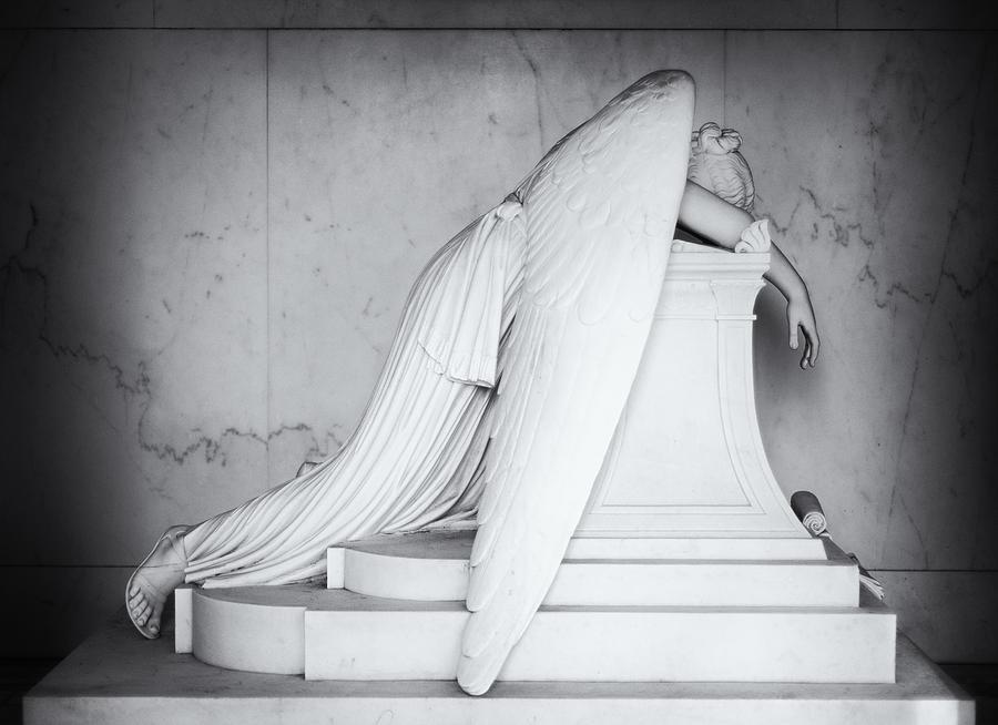 Louisiana Photograph - Weeping Angel 1 by John Gusky