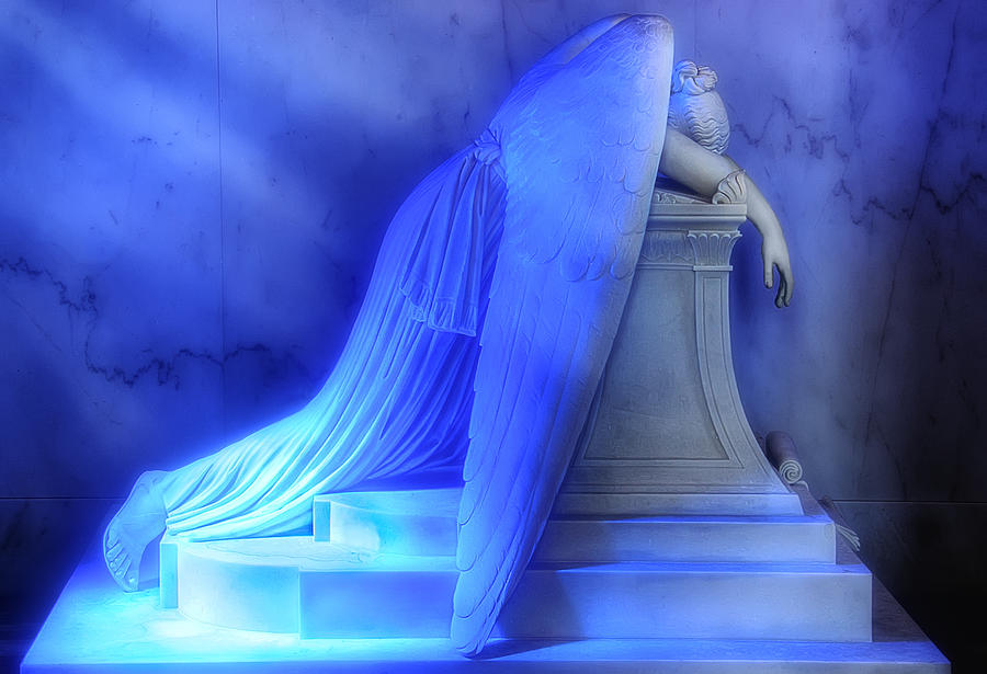 New Orleans Photograph - Weeping Angel by Don Lovett