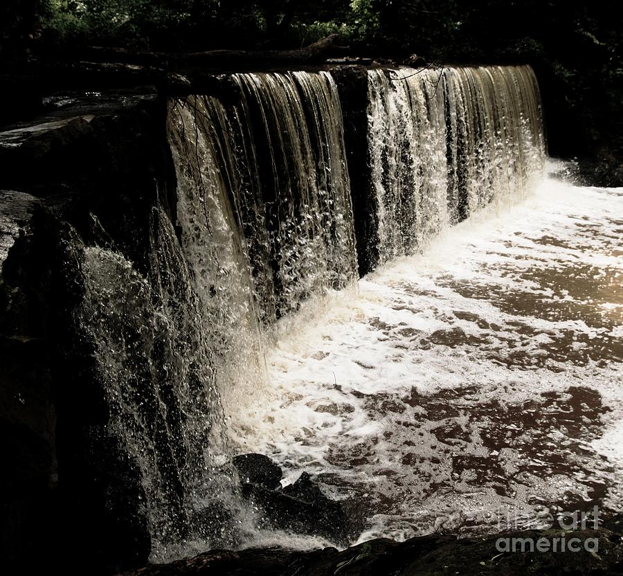 Waterfall Photograph - Weeping Falls by Scott Allison