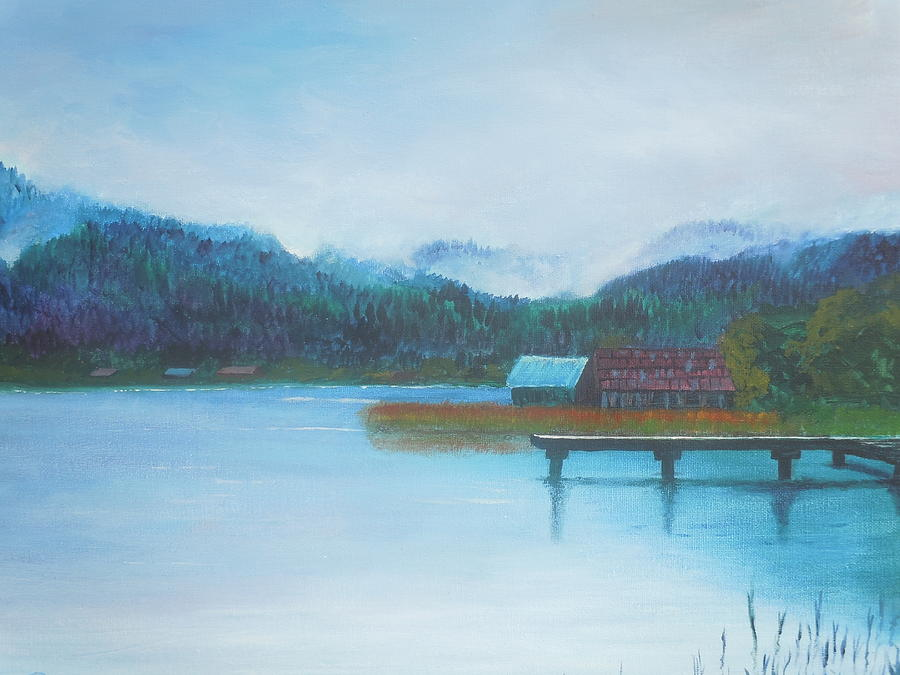 Weissensee 3 by Petra Stephens
