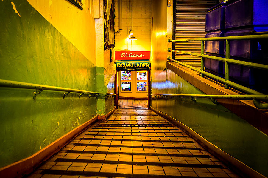 Color Image Photograph - Welcome Down Under by Brian Xavier