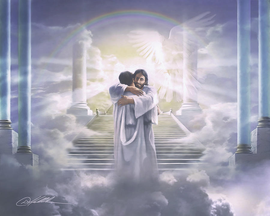 Christian Painting - Welcome Home by Danny Hahlbohm