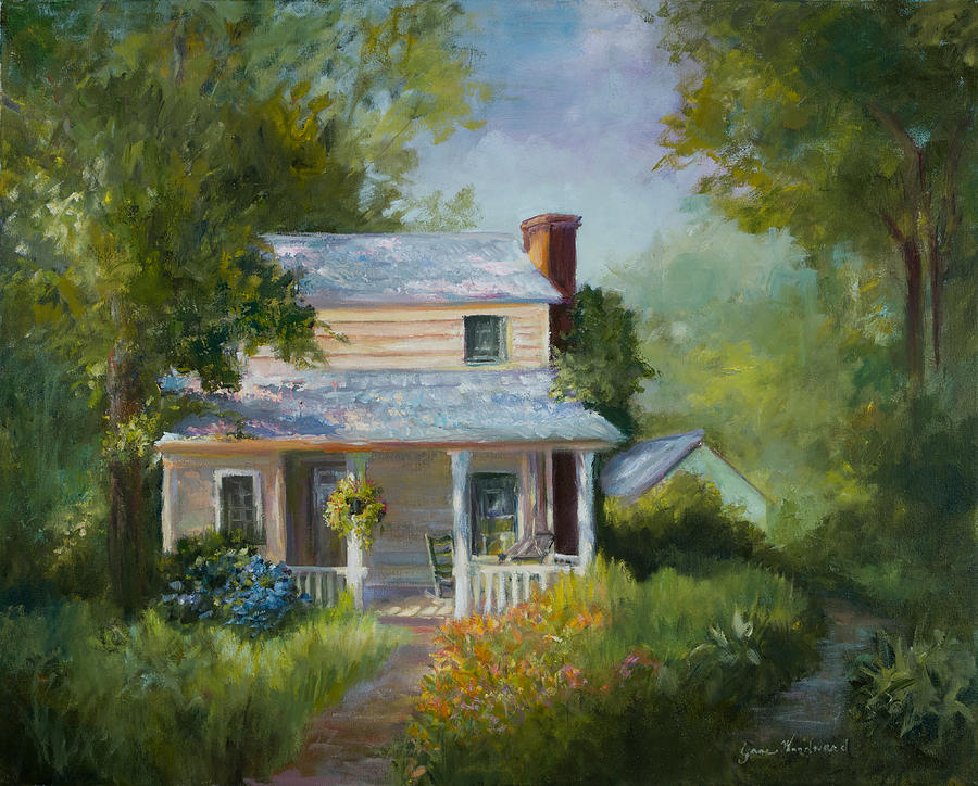 Home Painting - Welcome by Jane Woodward