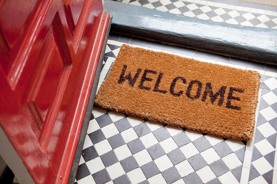 Welcome Mat Photograph by Image Source