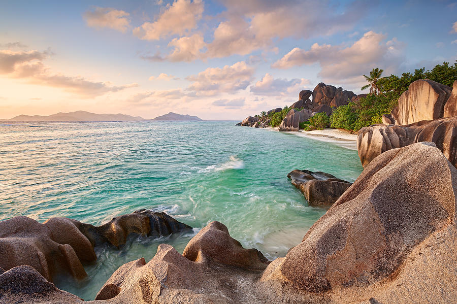 Seychellen Photograph - Welcome To La Digue by Michael Breitung