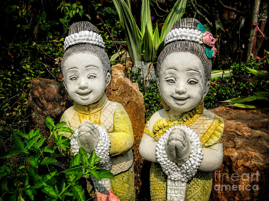 Sawasdee Photograph - Welcome To Thailand by Adrian Evans
