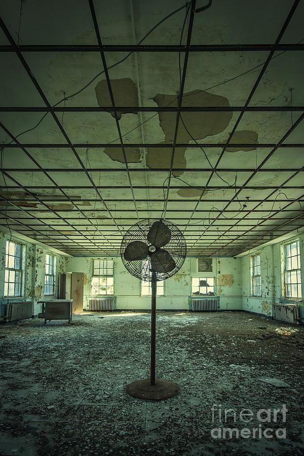 Asylum Photograph - Welcome To The Asylum by Evelina Kremsdorf