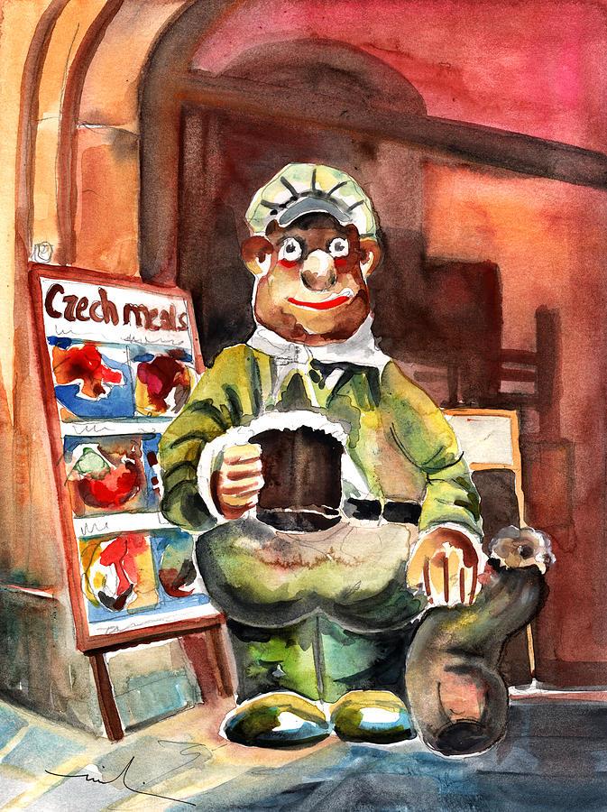 Czech Republic Painting - Welcome To The Czech Republic 04 by Miki De Goodaboom