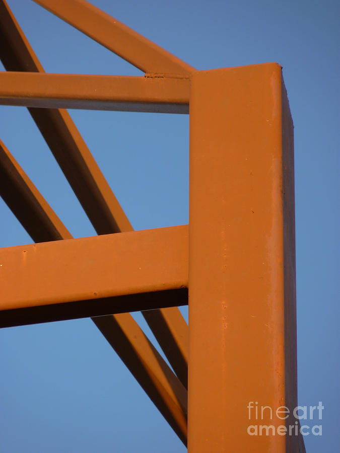 Weld Photograph - Weld In Brown by Lin Haring