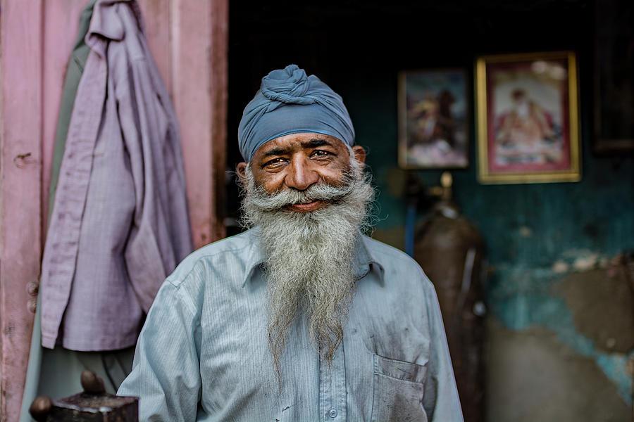 Beard Photograph - Welder by Yasemin Bakan