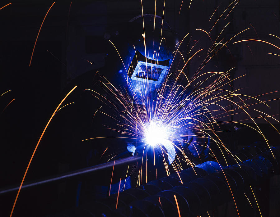 Fuel Photograph - Welding  by Andrew James