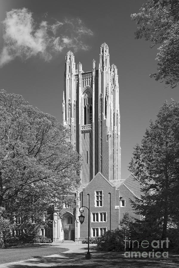 Green Hall Photograph - Wellesley College Green Hall by University Icons
