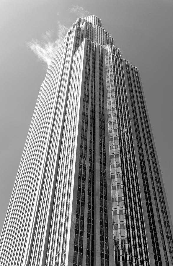 Minneapolis Photograph - Wells Fargo Center In Minneapolis by Jim Hughes