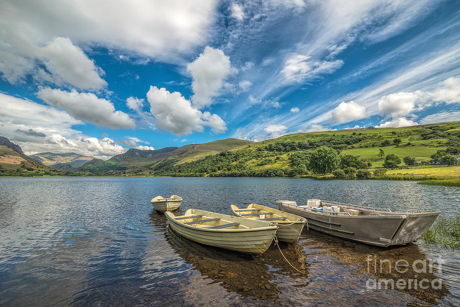 Boat Photograph - Welsh Boats by Adrian Evans