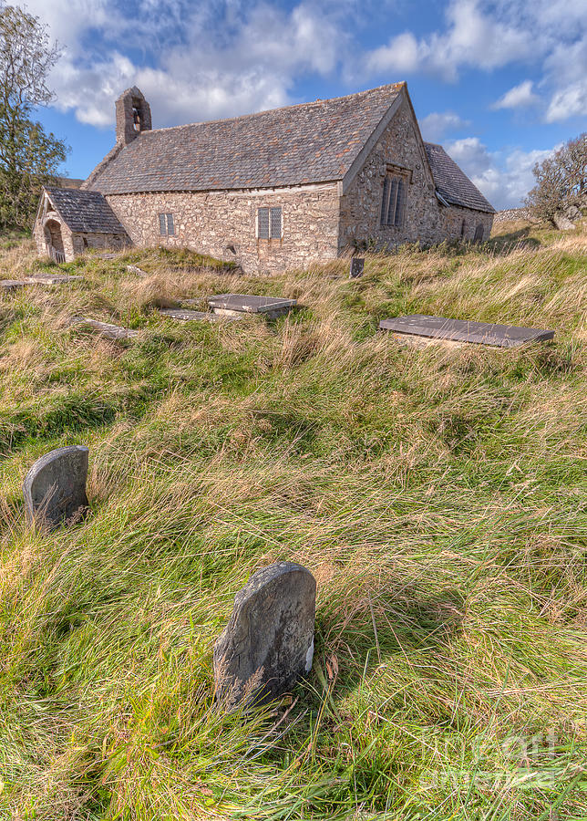 Architecture Photograph - Welsh Tombs by Adrian Evans