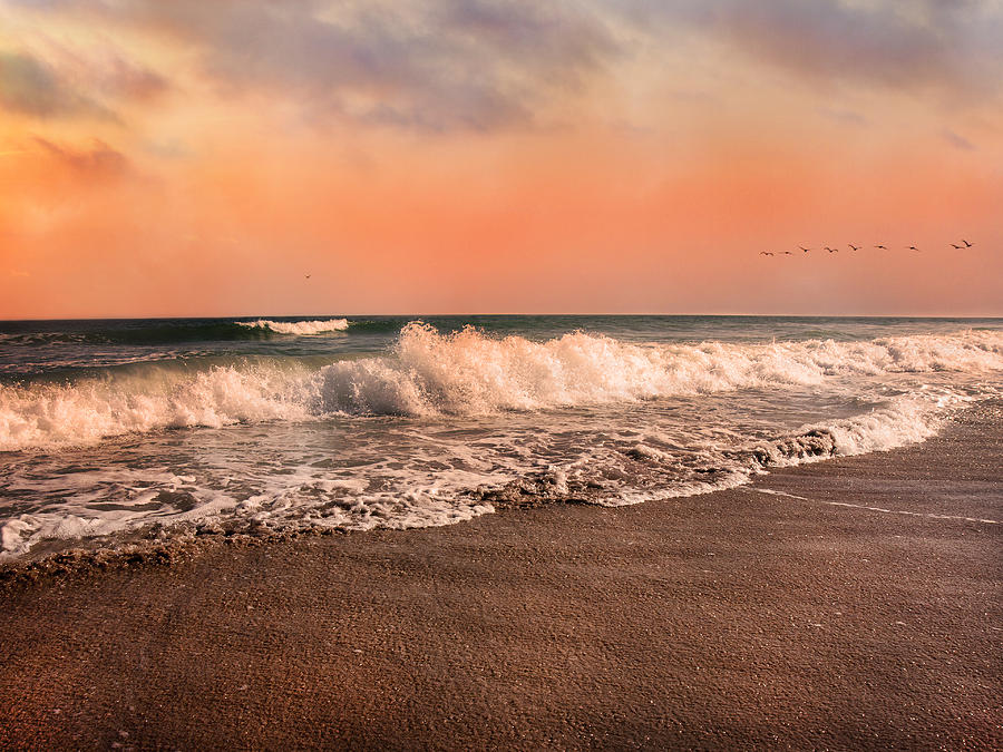 Beach Photograph - Were Having The Tide Of Our Lives by Betsy Knapp